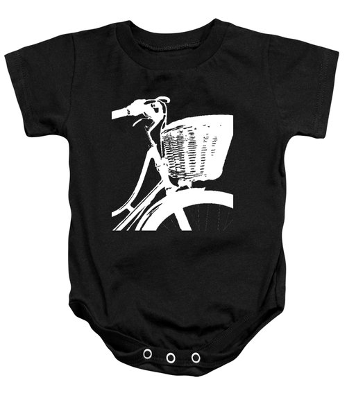 Bike Graphic Tee Baby Onesie