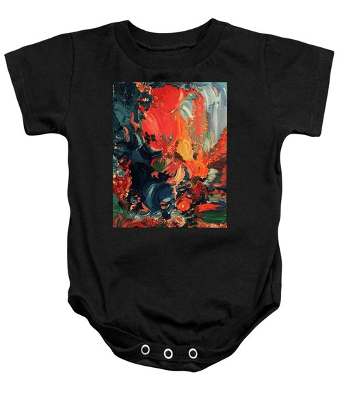 Birds And Creatures Of Paradise Baby Onesie