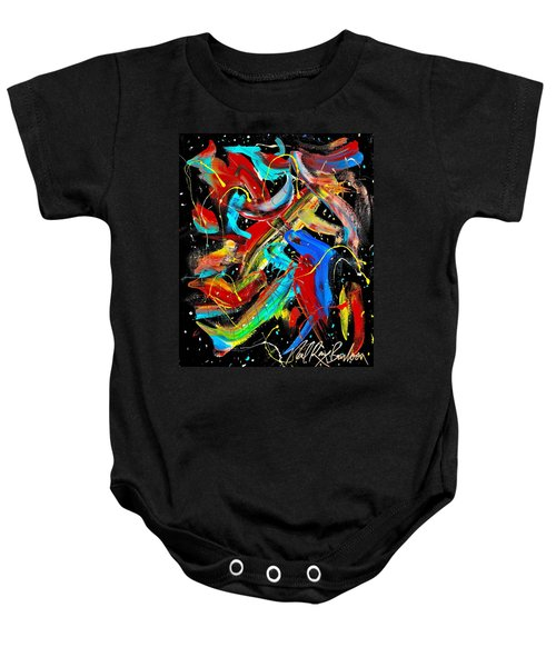 Birds Are Fish Baby Onesie