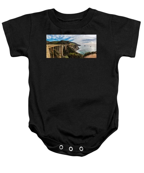 Bixby Creek Bridge Big Sur California  Baby Onesie