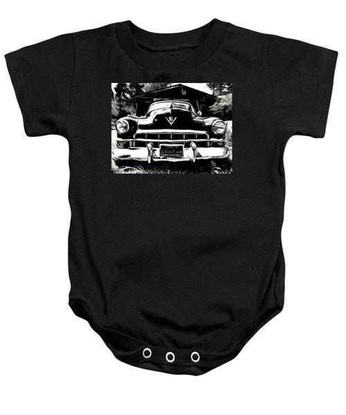 Black Cadillac Baby Onesie
