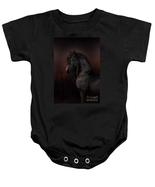 Black Dawn Baby Onesie