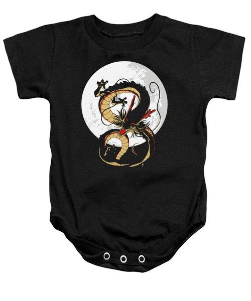 Black Shenron Baby Onesie