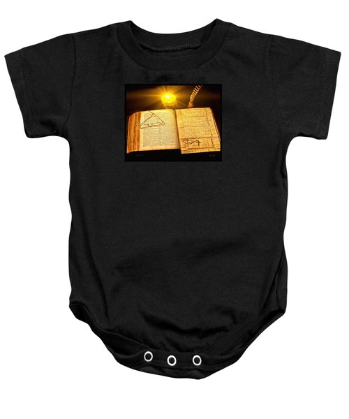 Black Sunday Baby Onesie