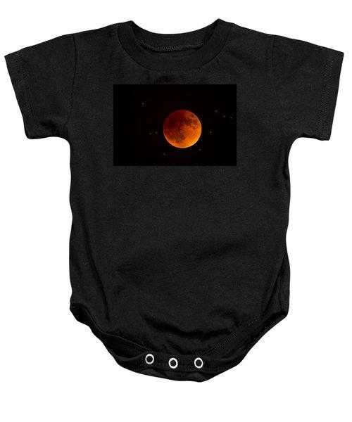 Blood Moon Lunar Eclipse 2015 Baby Onesie