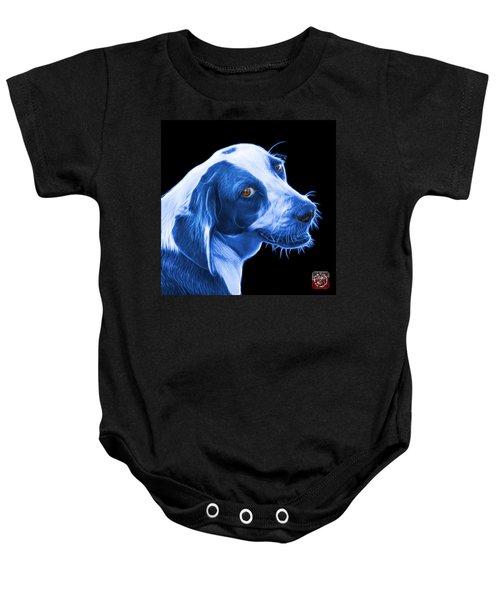 Blue Beagle Dog Art- 6896 - Bb Baby Onesie