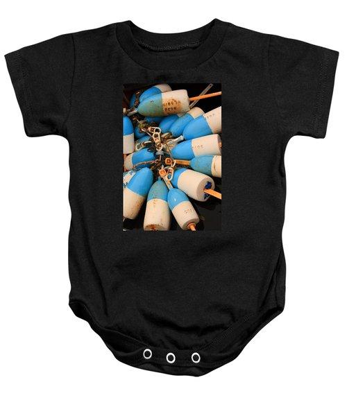 Blue Bouys Baby Onesie