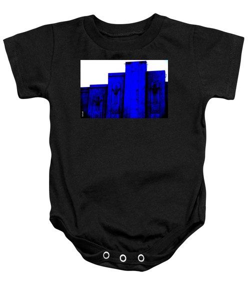Blue Deco Baby Onesie