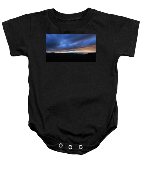Blue Hour In Shenandoah Baby Onesie