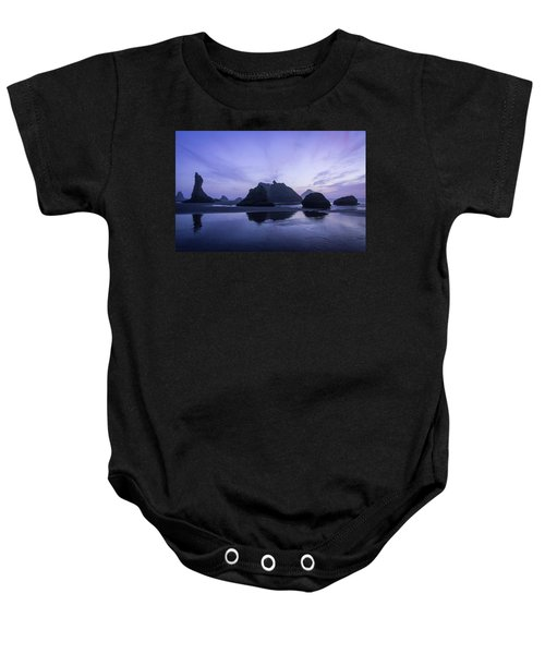 Blue Hour Reflections Baby Onesie