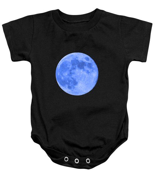 Blue Moon .png Baby Onesie