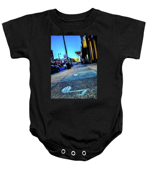 Blue Notes On Beale Baby Onesie