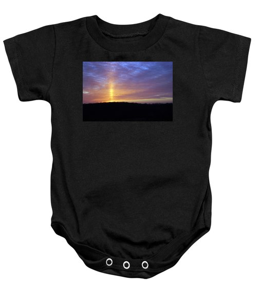 Blue Sunset Baby Onesie