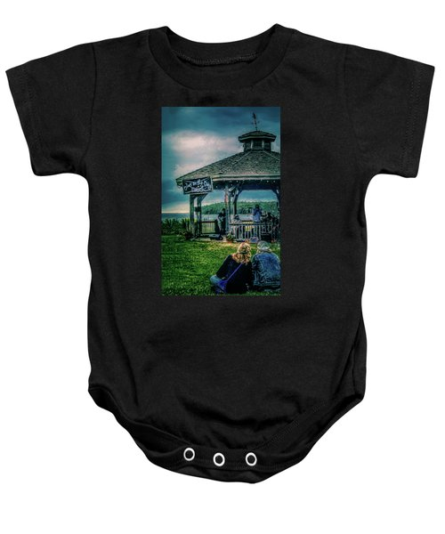 Blues On The Bay Baby Onesie