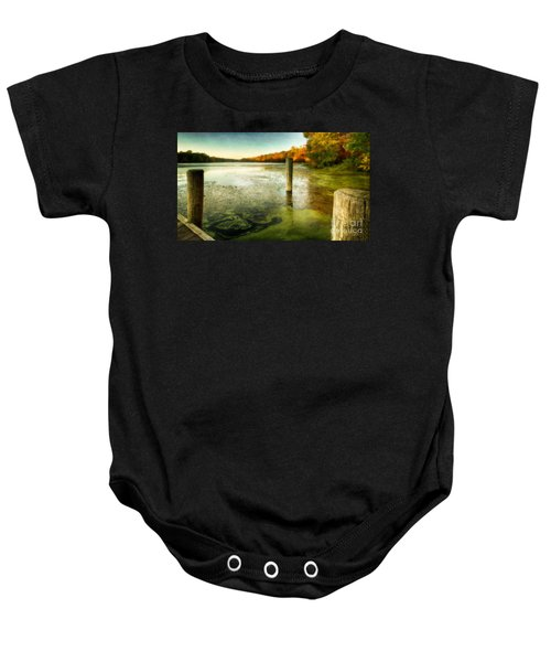 Blydenberg Park In The Fall Baby Onesie