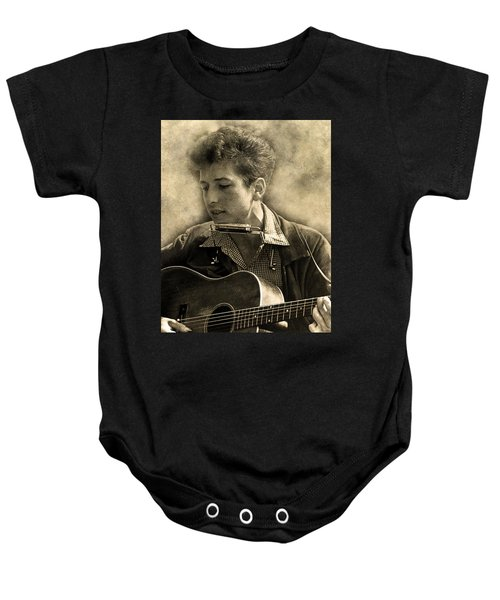 Bob Dylan Baby Onesie