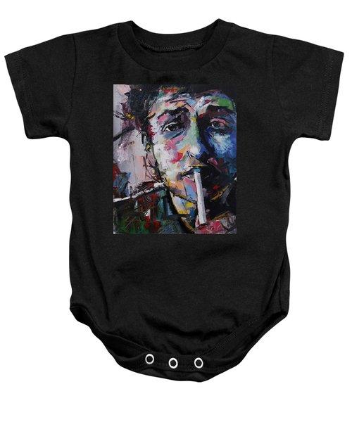 Bob Dylan Baby Onesie by Richard Day