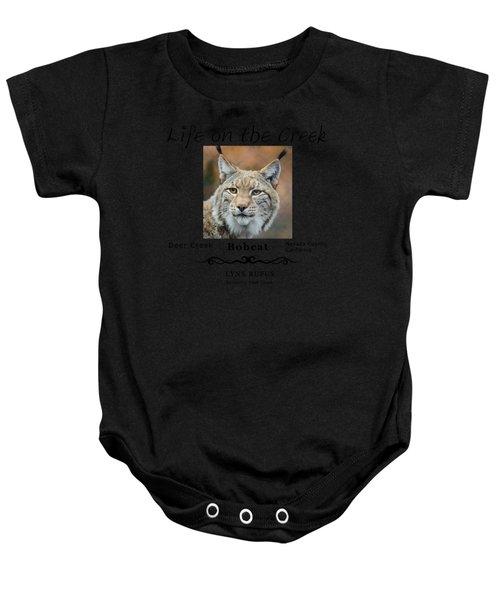 Bobcat - Lynx Rufus Baby Onesie