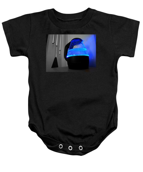 Boiling Blue Baby Onesie