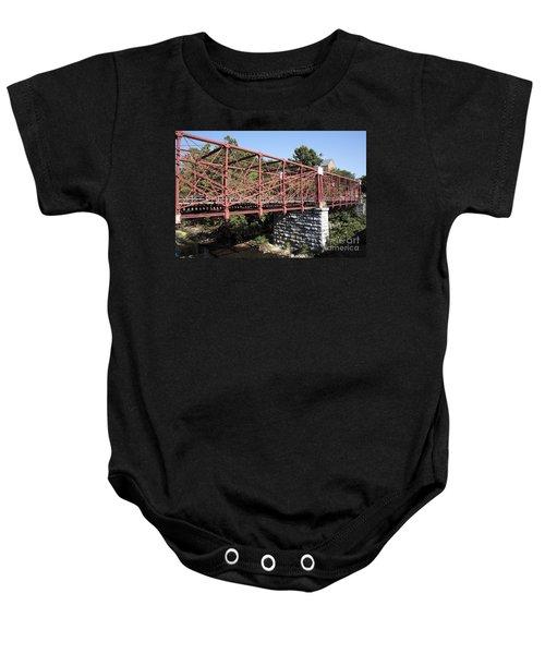 Bollman Truss Bridge At Savage In Maryland Baby Onesie