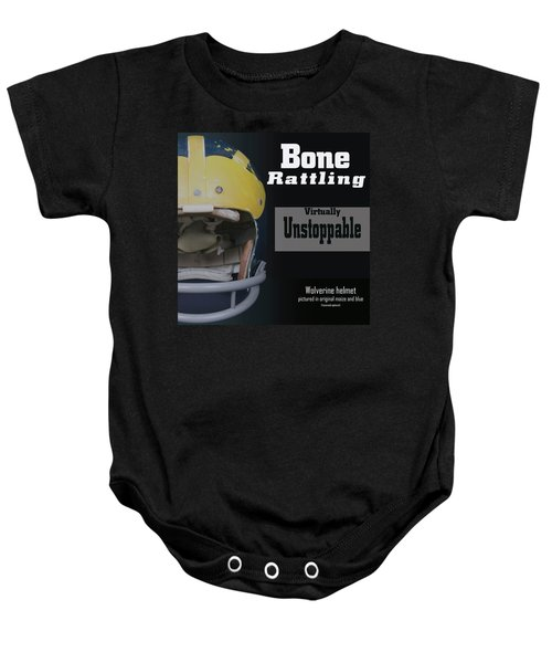Bone Rattling Virtually Unstoppable Baby Onesie