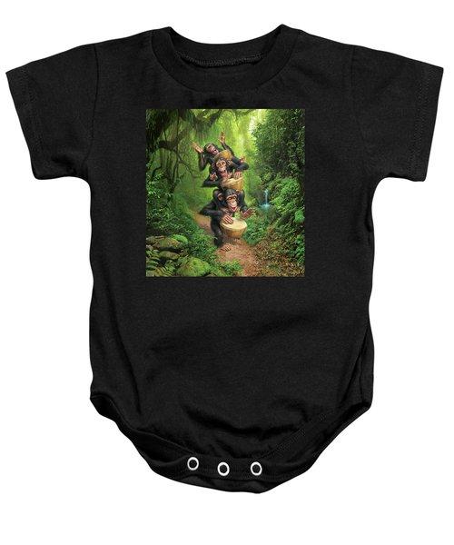 Bongo In The Jungle Baby Onesie