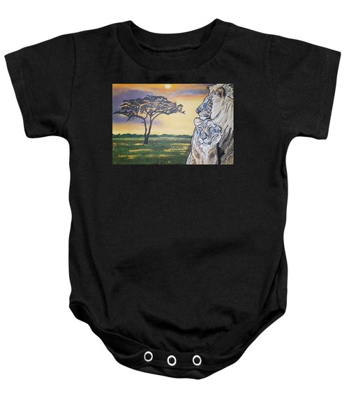 Bonnie And Clyde Baby Onesie