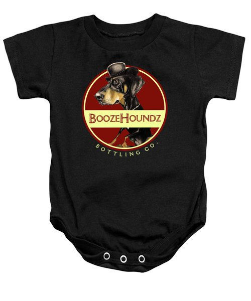 Boozehoundz Bottling Co. Baby Onesie