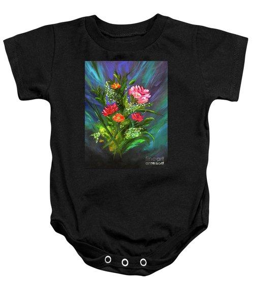 Bouquet Baby Onesie