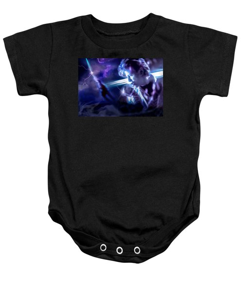 Bowie A Trip To The Stars Baby Onesie