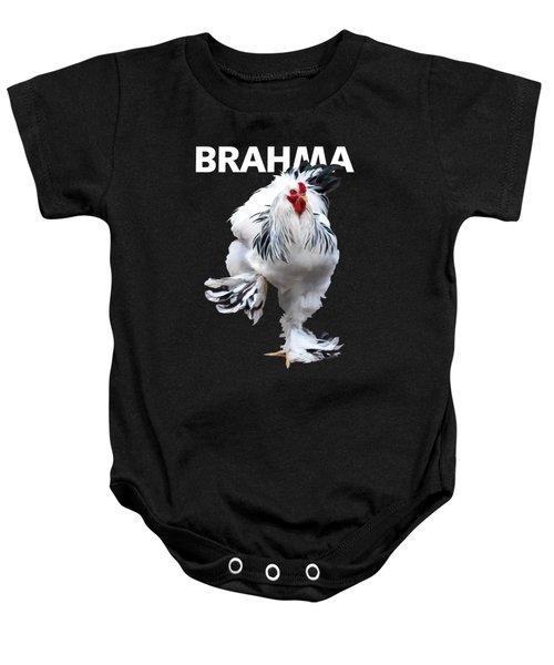 Brahma Breeders Rock T-shirt Print Baby Onesie