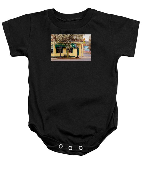 Brass Cat Pub Easthampton Baby Onesie