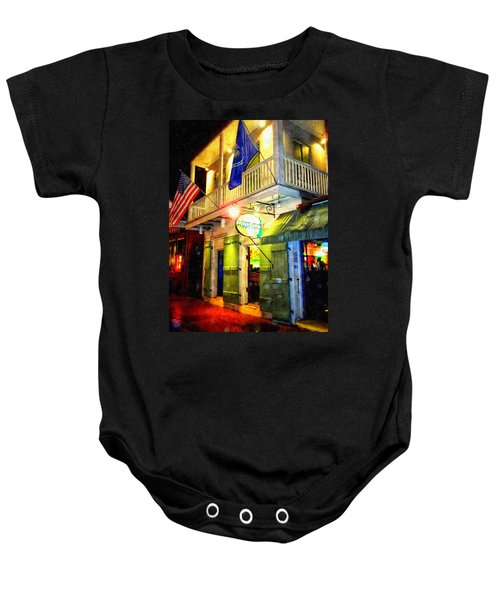 Bright Lights In The French Quarter Baby Onesie