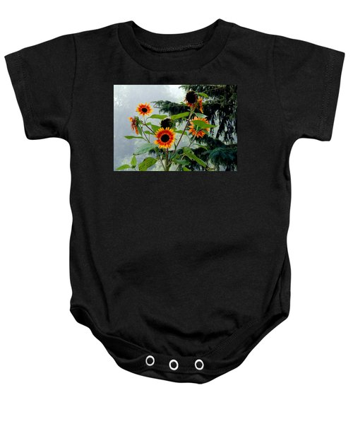 Bright Spots On A Foggy Morning Baby Onesie