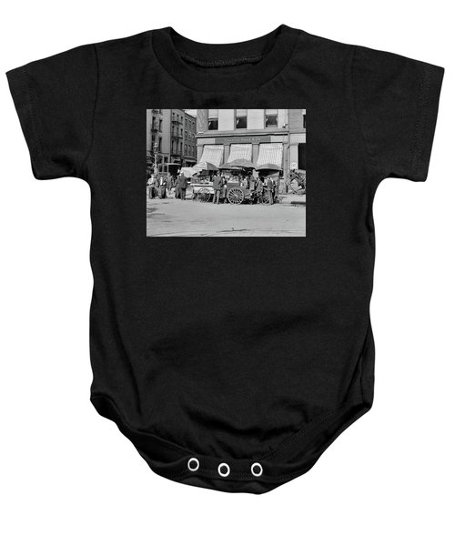 Broad St. Lunch Carts New York Baby Onesie