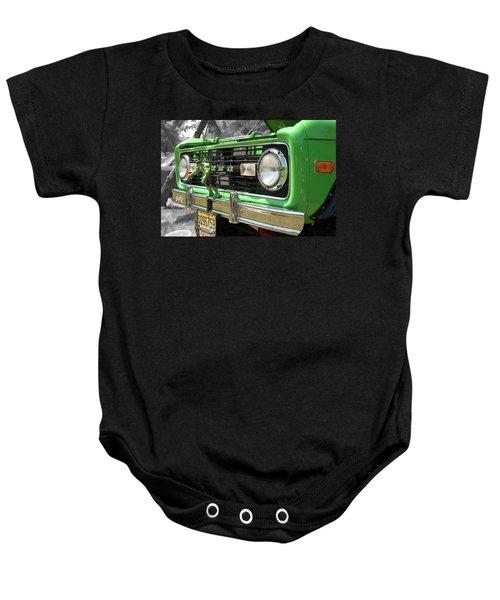 Bronco Front Baby Onesie