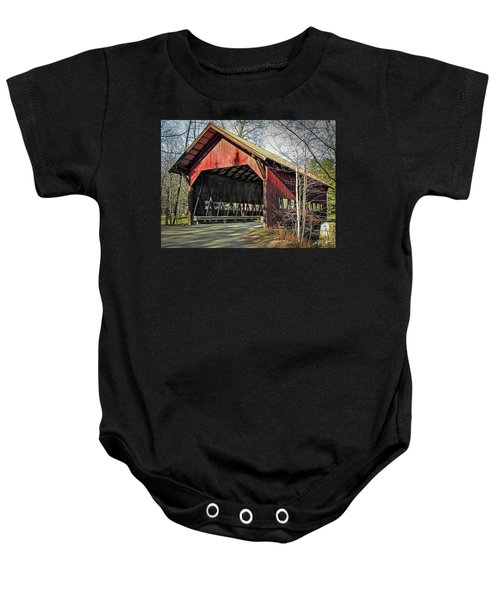 Brookdale Bridge Baby Onesie