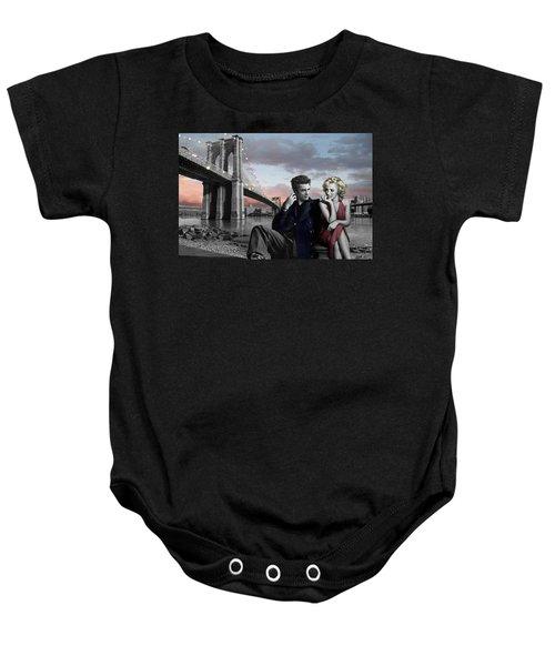 Brooklyn Bridge Baby Onesie by Chris Consani