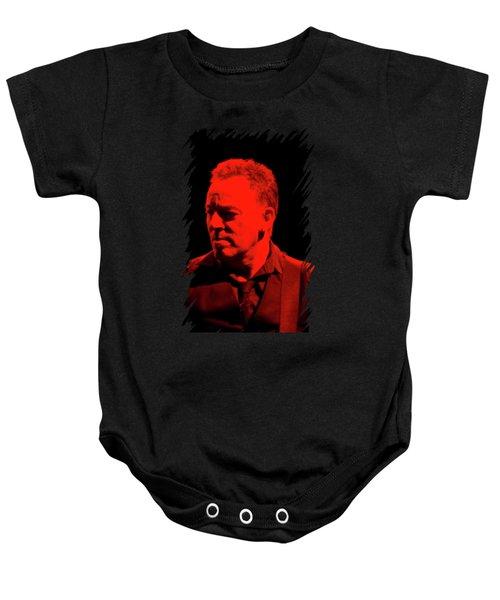 Bruce Springsteen Baby Onesie by Mona Jain