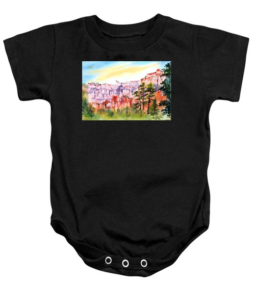 Bryce Canyon #3 Baby Onesie