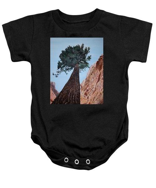 Bryce Pine Baby Onesie