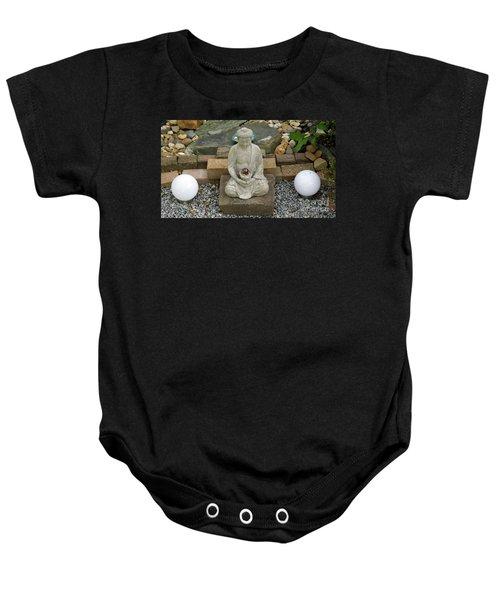 Buddha In The Garden Baby Onesie