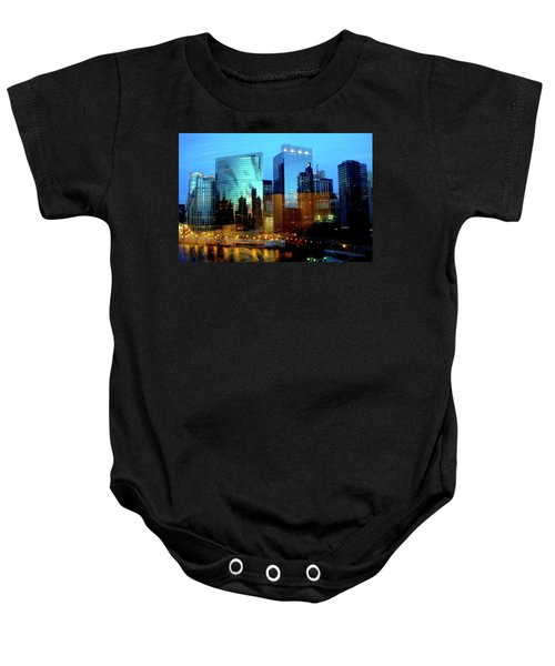 Reflections On The Canal Baby Onesie