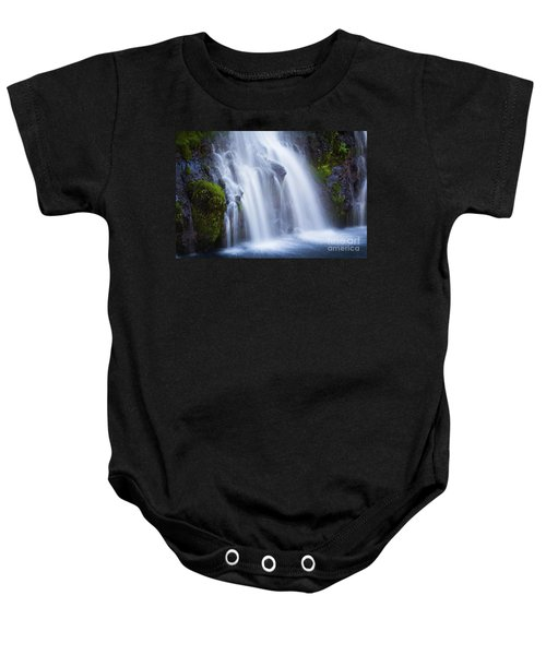 Baby Onesie featuring the photograph Burney Falls  by Vincent Bonafede