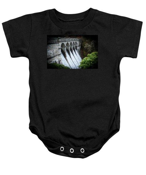 Burrator Reservoir Dam Baby Onesie