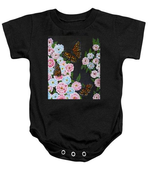 Butterfly Beauty Baby Onesie by Teresa Wing