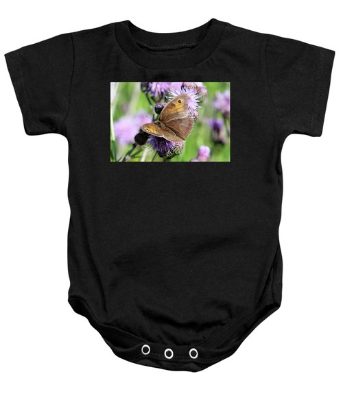 Butterfly Photograph  Baby Onesie