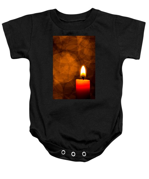 By Candle Light Baby Onesie