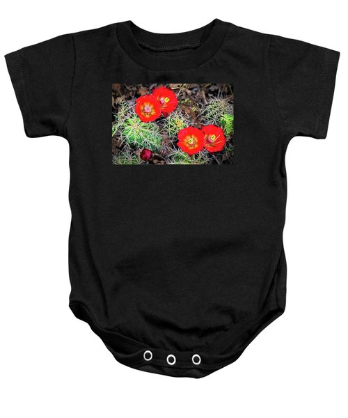 Cactus Bloom Baby Onesie