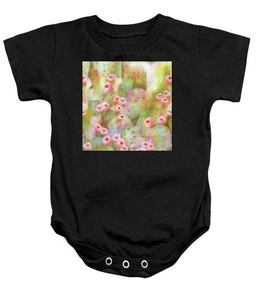 Cactus Rose Baby Onesie